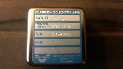 Vectron Voltage Controlled Oscillator 100 Mhz Model Vc-371