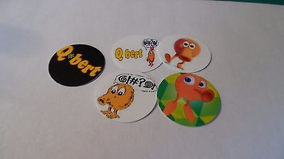 Pre Cut One Inch Bottle Cap Images Qbert Q bert Video Game Free Shipping](Bert Bottle Caps)