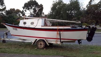 trailer based yacht