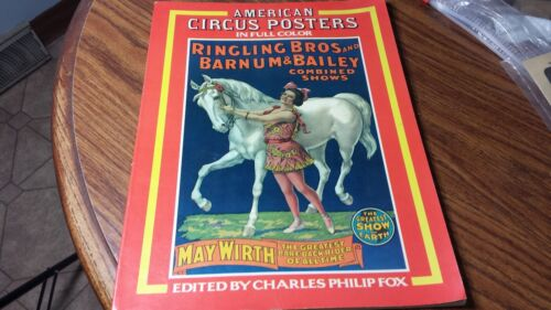 1978 American Circus Posters In Color Book Edited By Charles Philip Fox