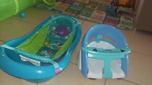 Baby Bath with Net & Bath Seat $50 for Both Port Kennedy Rockingham Area Preview