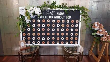 Donut Wall - Hire - 72 Donuts - $450