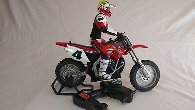 Radio Shack Rc Motorcycle With Ricky Carmichael