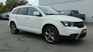 2018 Dodge Journey CROSSROAD AWD- NAV- DVD- LEATHER- SUNROOF
