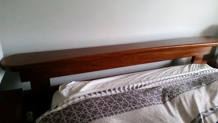 Mahogany Wooden Bed Frame
