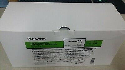 Box Of 10 Halyard 227 Turbo Cleaning Closed Suction System Adult Ballard Medical