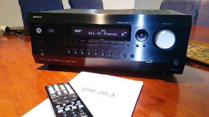 Integra DTR-20.3, HDMI receiver, amp, surround sound, speakers