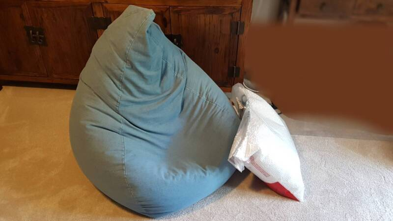 Tremendous Bean Bag With Extra Beans Other Furniture Gumtree Ncnpc Chair Design For Home Ncnpcorg