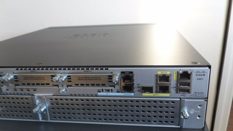 Cisco 2951-CME-SRST/K9 GIGABIT VOICE ROUTER PVDM3-32 CME-12 0 ios