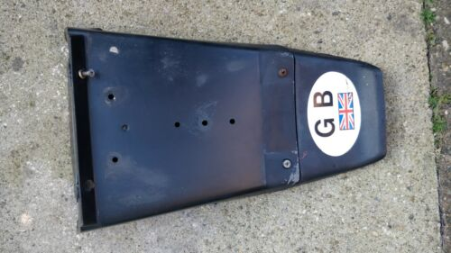 BMW K100 K75 REAR LICENCE PLATE SPASH MUD GUARD with Extender