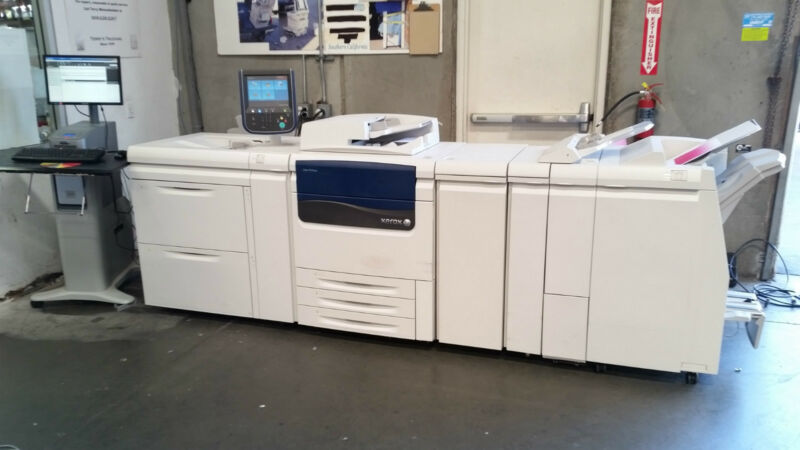 Xerox Color J75 Color Production Press