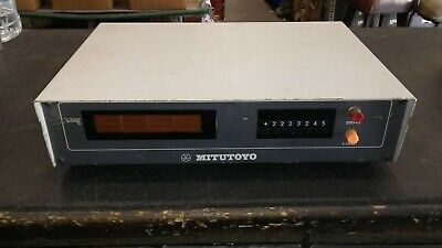Mitutoyo 164-419 Digital Counter With 8 Digit Display