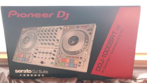 【BRAND NEW】Pioneer DJ DDJ-1000SRT-W 4ch DJ Controller For Serato DJ Pro【DHL】