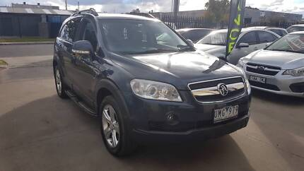 2007 Holden Captiva LX Wagon AUTO LOW KMS 7 SEATS Williamstown North Hobsons Bay Area Preview