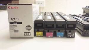 Genuine Canon GPR-11 photocopier toner and waste bottle Camden Park West Torrens Area Preview