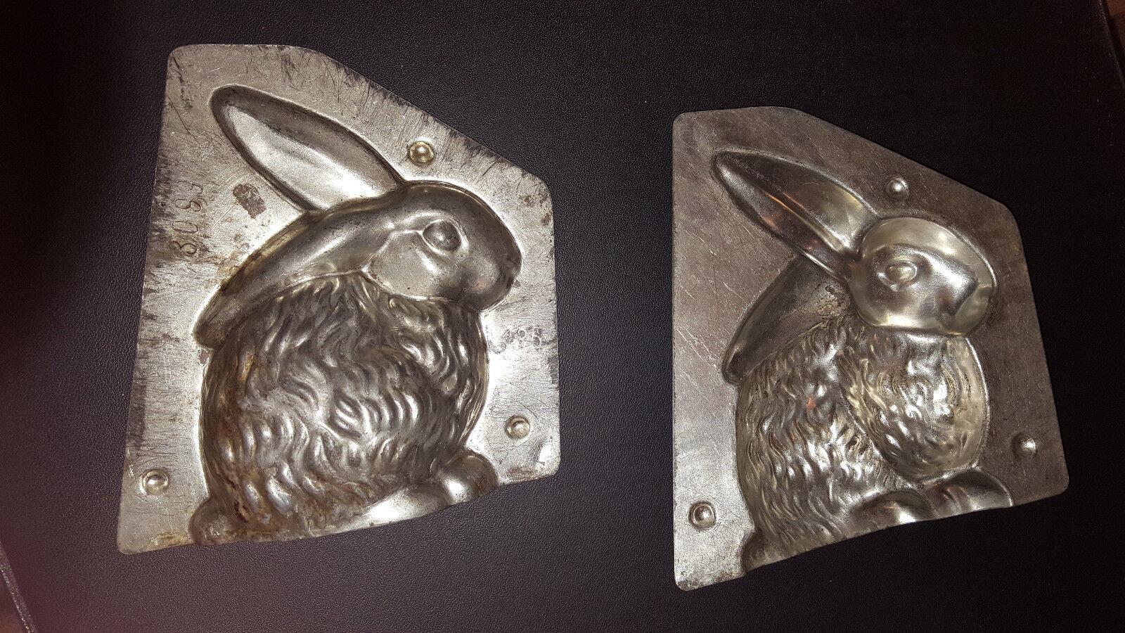 SCHOKOLADEN-FORM 3099laurösch Alte Backform Form Schokolade Chocolate mold moule