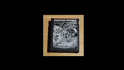 Captain Beeble Cartridge  Atari  400/800  -- Tested --