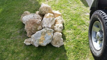 Limestone garden rocks Langford Gosnells Area Preview