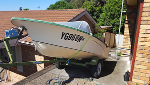 Price drop!!! Boat, trailer and motor (30 HP Mercury) Cordeaux Heights Wollongong Area Preview