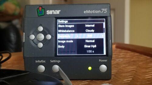Sinarback eMotion 75