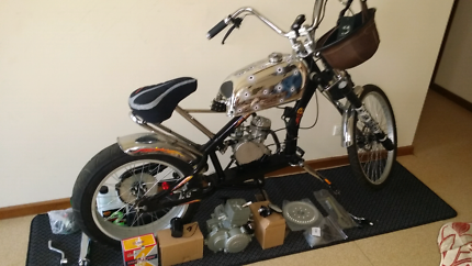 Wanted: Totally customized lowrider motorized push bike.