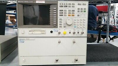 Hp 89440a Vector Signal Analyzer With Rf Section Wopt Ic2 Ufg Ayh Ayb