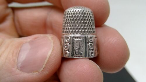 Vintage Stern Bros Sterling Silver Thimble