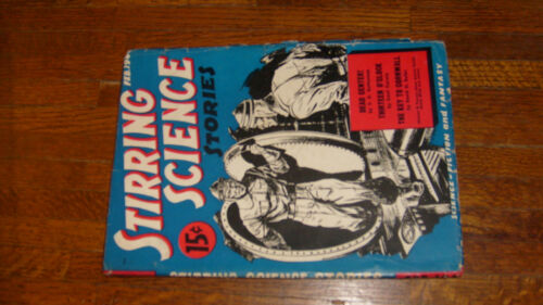 STIRRING SCIENCE STORIES PULP #1 FEBRUARY 1941, R E HOWARD (POEM)