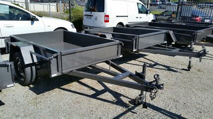 6X4 DELUXE BOX TRAILER 750kg