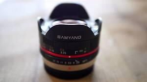 Samyang 7.5mm f/3.5 Fish Eye Rockingham Rockingham Area Preview