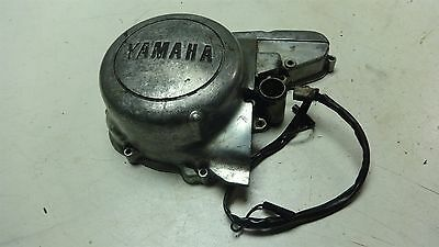 1975 YAMAHA XS500 XS 500 YM149B ENGINE CRANKCASE SIDE STATOR COVER FIELD COIL