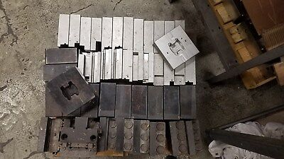 Large Lot Of Parlec Workholding Jaws For 6 Vises Tombstones Cnc Kurt Haas Chick