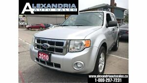 2010 Ford Escape XLT/v6/1owner/accident free/safety included