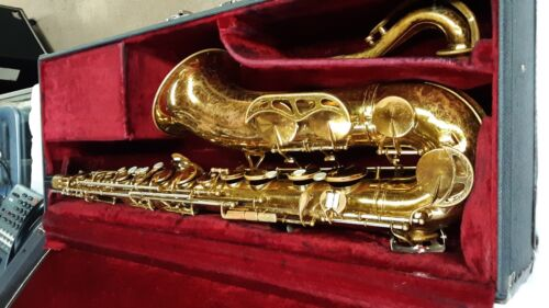 King Zephyr Tenor Sax with Case.