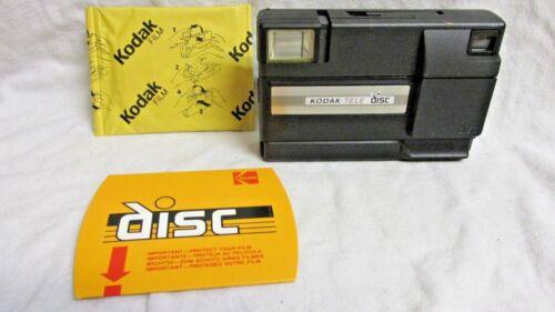 VINTAGE 1980s KODAK TELE-DISC CAMERA WITH KODAK DISC FILM