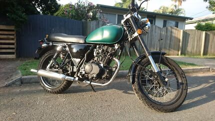 2016 Braaap Mercury 250cc Cafe Racer - Army Green