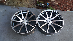 Mercedes AMG Concaved Style wheels Keysborough Greater Dandenong Preview