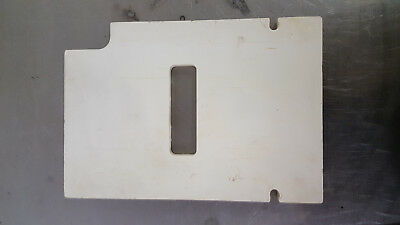Patty O Matic Patty Maker Former Forming Seal Plate 34 Plastic
