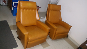 Retro style arm chairs Torrensville West Torrens Area Preview