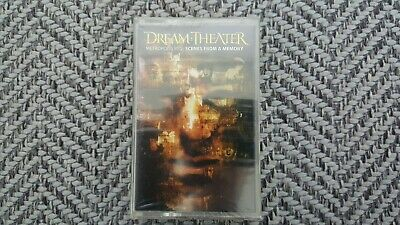 Dream Theater - Scenes From A Memory Cassette Tape SEALED NEW