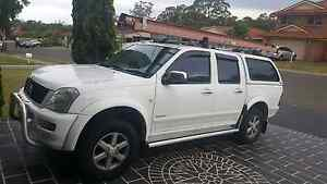 Holden rodeo LT dual cab 2004 LPG/Petrol Green Valley Liverpool Area Preview