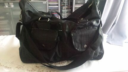 Black nappy bag Craigmore Playford Area Preview