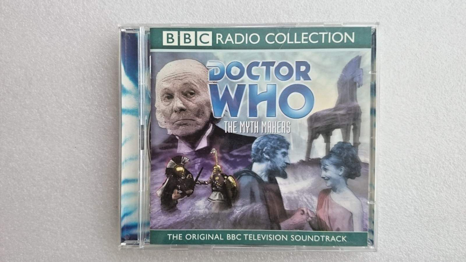Doctor Who: Myth Makers:  (Cd Audio 2001) - William Hartnell