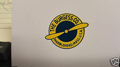 Burgess Propeller Decal Set of 2 for Vintage Aircraft 1904 - 1916