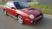 2002 SUBARU IMPREZA WRX S TURBO Auto AWD SEDAN AUTO LIGHT HAIL Adelaide CBD Adelaide City Preview