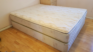 Quality Dreamworks Orthopractic queen mattress and bed base West Ryde Ryde Area Preview