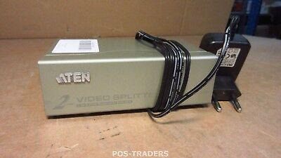 ATEN VS92A 2 Port Video Splitter Support 350MHz 1920 x 1440 - INCL PSU