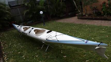 Mirage double sea kayak Mona Vale Pittwater Area Preview