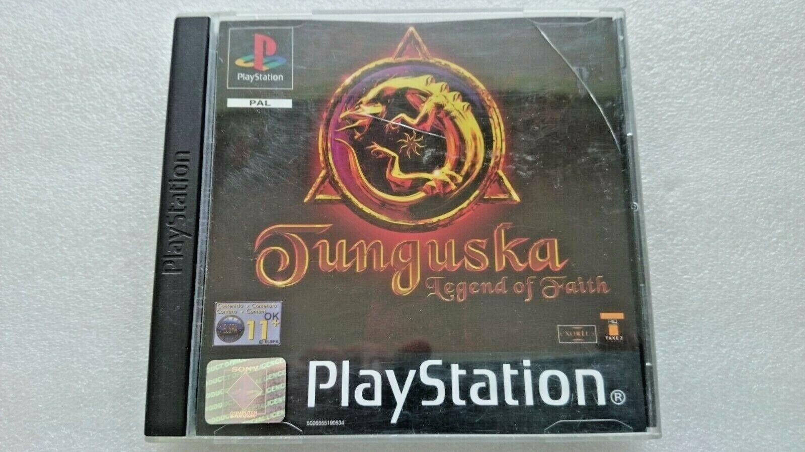Tunguska (Sony PlayStation 1, 2000)