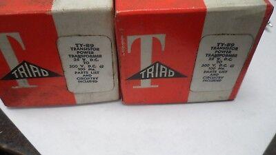 2 X Triad Power Transformer Ty-89